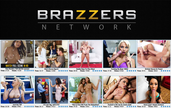 Brazzers porn site review