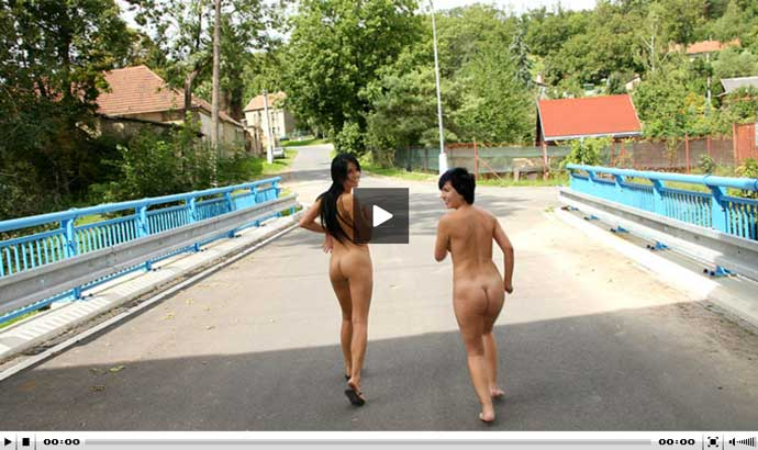 Good free porn video with real lesbian girls