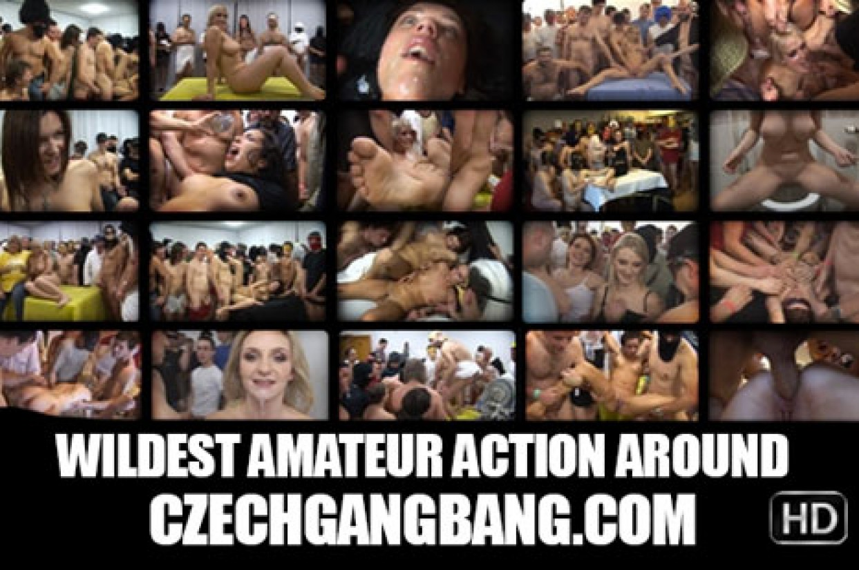 Czech Gang Bang