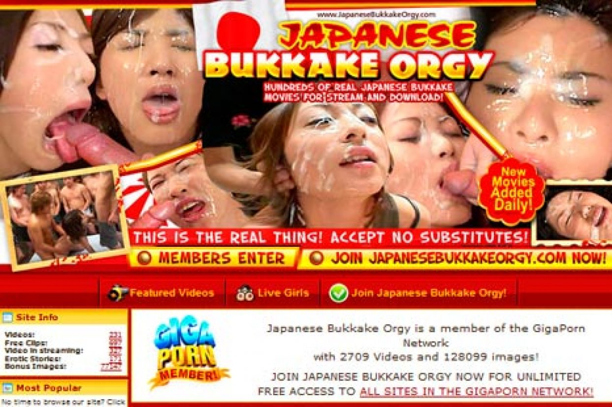 JapaneseBukkakeOrgy