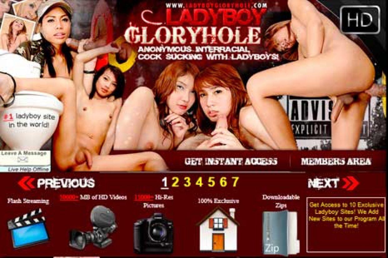 LadyboyGloryhole
